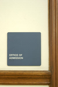 Admissions Office.