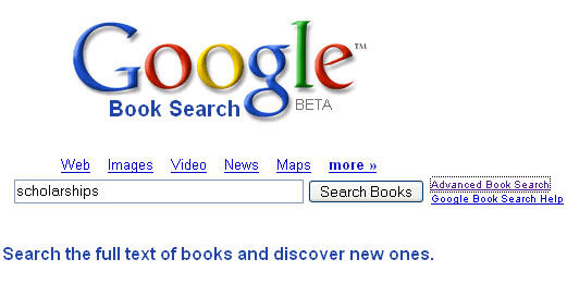 Google Book Search.