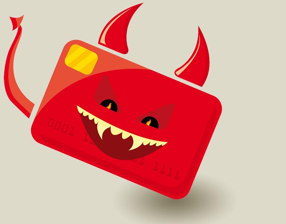 Evil Credit Card.