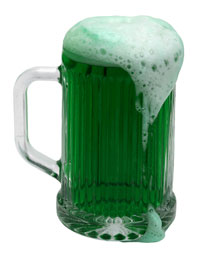 St Patrick's Day Green Beer.