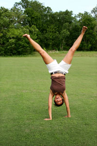 Happy Cartwheel.