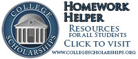Homework Helper from CollegegeScholarships.org.