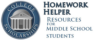middle school homework helpers