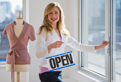 how to get a grant to open a business